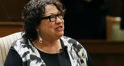 On court diversity, Justice Sonia Sotomayor sounds like Scalia